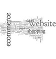 benefits of seo for ecommerce vector image vector image