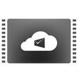 digital marketing email laptop envelope send vector image