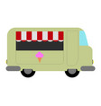 isolated food truck icon vector image