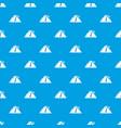 rockfall pattern seamless blue vector image vector image