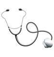 A doctors stethoscope vector image vector image