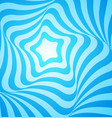 abstract blue geometric design vector image