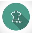 chef icon vector image