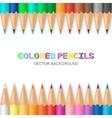 colored pencils vector image