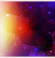 colorful cosmic background with light shining vector image vector image