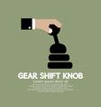Gear Shift Knob vector image vector image