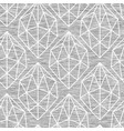 geometric gem gray marl heather seamless pattern vector image vector image