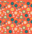 ripe fruits creative pattern vector image