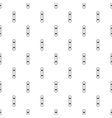 Snowboard pattern simple style vector image