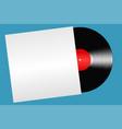vinyl record isolate vector image