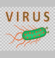 virus set isolated vector image vector image