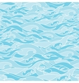 Wave pattern vector image