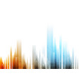 Bright abstract background with tech elements vector image