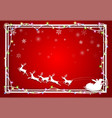 concept of christmas festival and new year vector image