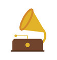 gramophone music icon image vector image vector image