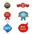 sale off tag icon vector image vector image