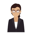 women business suit leader vector image