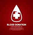 Blood Donation Graphic vector image