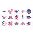 4th july independence day celebration honor vector image