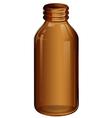 A medical bottle vector image vector image