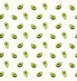 avocado seamless pattern for print fabric vector image vector image