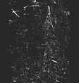 distressed overlay texture of rusted peeled metal vector image vector image