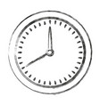 monochrome blurred silhouette of measurer vector image vector image