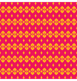pink yellow modern classic design pattern vector image vector image