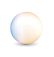shiny ball vector image