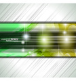 Abstract background for business card vector image vector image