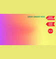 bright neon mesh gradient background smooth vector image