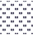 double trash can pattern seamless vector image