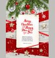 happy white card invitation vector image vector image