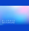 horizontal wide blue pink sky blurred background vector image vector image