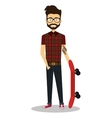 young man lifestyle avatar vector image