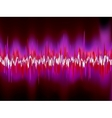 Abstract purple waveform EPS 8 vector image vector image