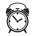 Alarm clock resize vector image