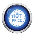 Hot price icon vector image vector image