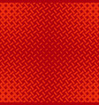 red geometrical halftone stripe pattern vector image
