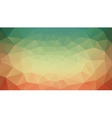 green yellow and red abstract background vector image