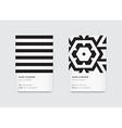 Minimal Propaedeutics Black and White Graphic vector image