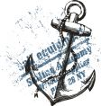 Anchor grunge design vector | Price: 1 Credit (USD $1)