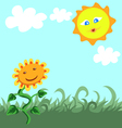 Beautiful Summer vector image