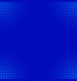blue retro abstract halftone stripe pattern vector image vector image