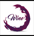 bubble of wine icon image vector image vector image