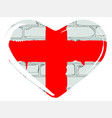 love england vector image vector image