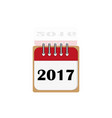 new year 2017 and old 2016 vector image vector image