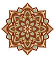ornamental colorful mandala vector image