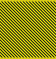 seamless diagonal background caution pattern vector image vector image