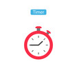 timer outline fit icons vector image vector image